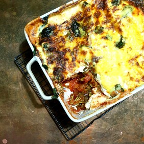 Tomato and Vege Lasagne